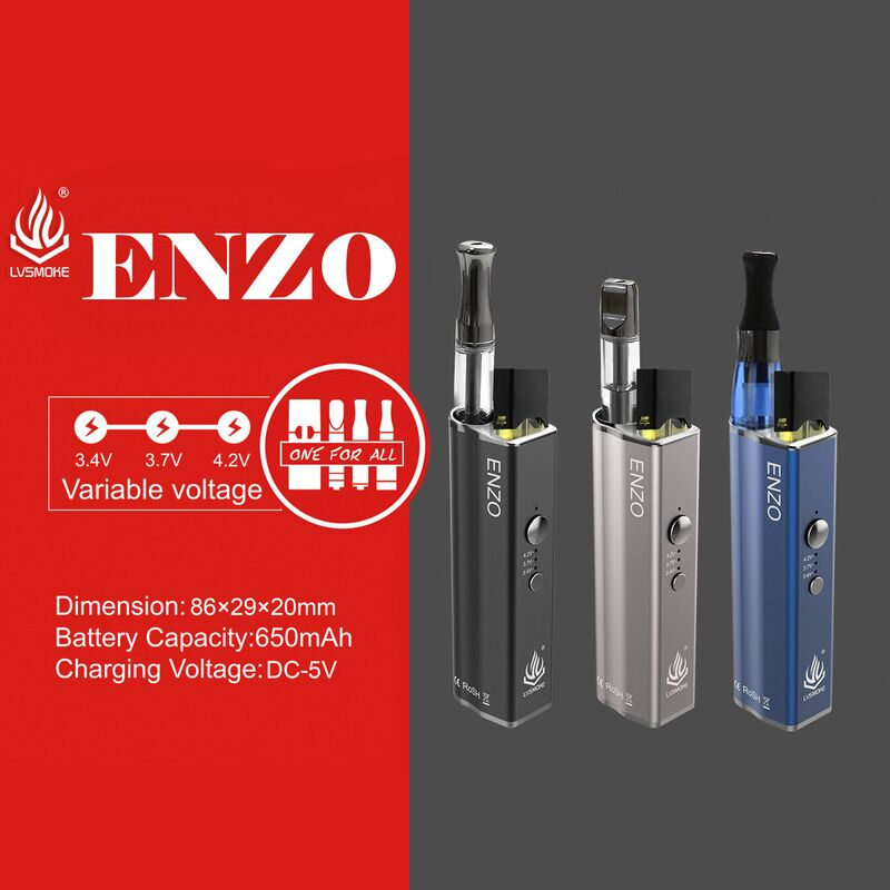 ENZO 4 in 1 vaporizer device, its fit for 510 JuuL CE4 [ENZO