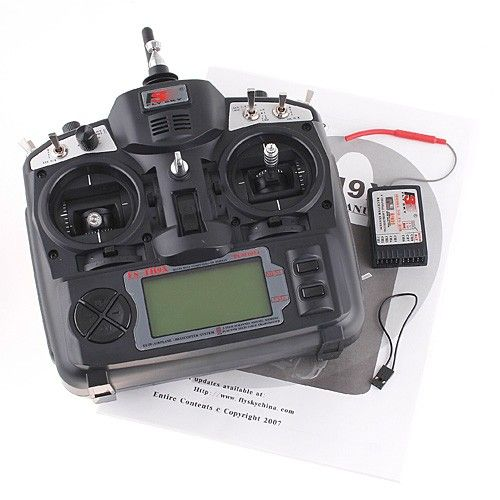 FlySky 2.4G 9CH Radio Model Transmitter&Receiver
