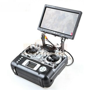 FPV monitor stand, fordable FUTABA & JR Radios