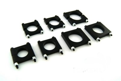 16MM Multi-rotor the CNC aluminum boom clip 10pc