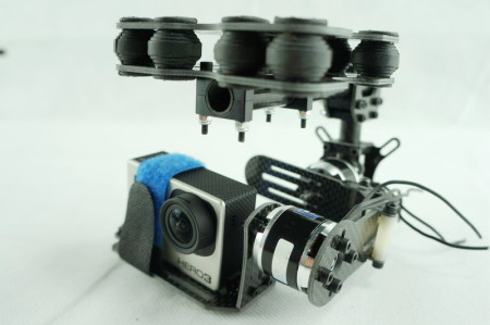 Dual axle Carbon fiber brushless-gimbal FOR GOPRO