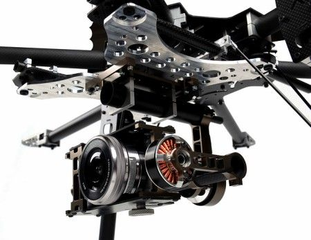 X-CAM X140BS for SONY NEX5 Series Brushless Gimbal System
