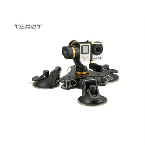 Tarot ZYX T-DZ 3Axis Metal Camera Stabilizer Gimbal Car Mounted