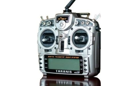 Taranis X9D FrSky 2.4G 16CH Telemetry mode 2 no receiver, no Bat