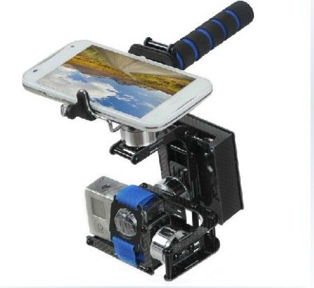 3 Axis Handheld Brushless Gimbal Camera for GoPro RTF