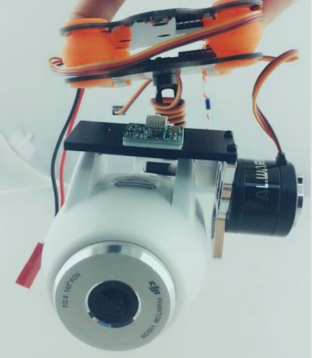 2 Axis Brushless Gimbal Camera Mount For DJI Vision