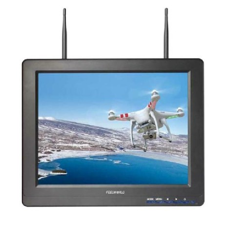 "12.1"" FPV monitor for photography"