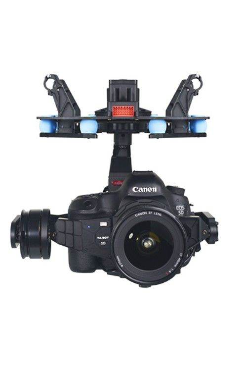 5D 3-Axis Brushless Gimbal Camera Mount by Tarot TL5D001