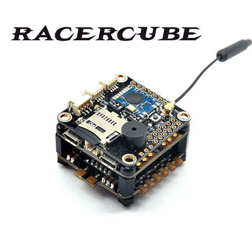 RacerCube Integrated F3 EVO 4 In 1 20A F396 ESC Frsky 8CH PPM/SB