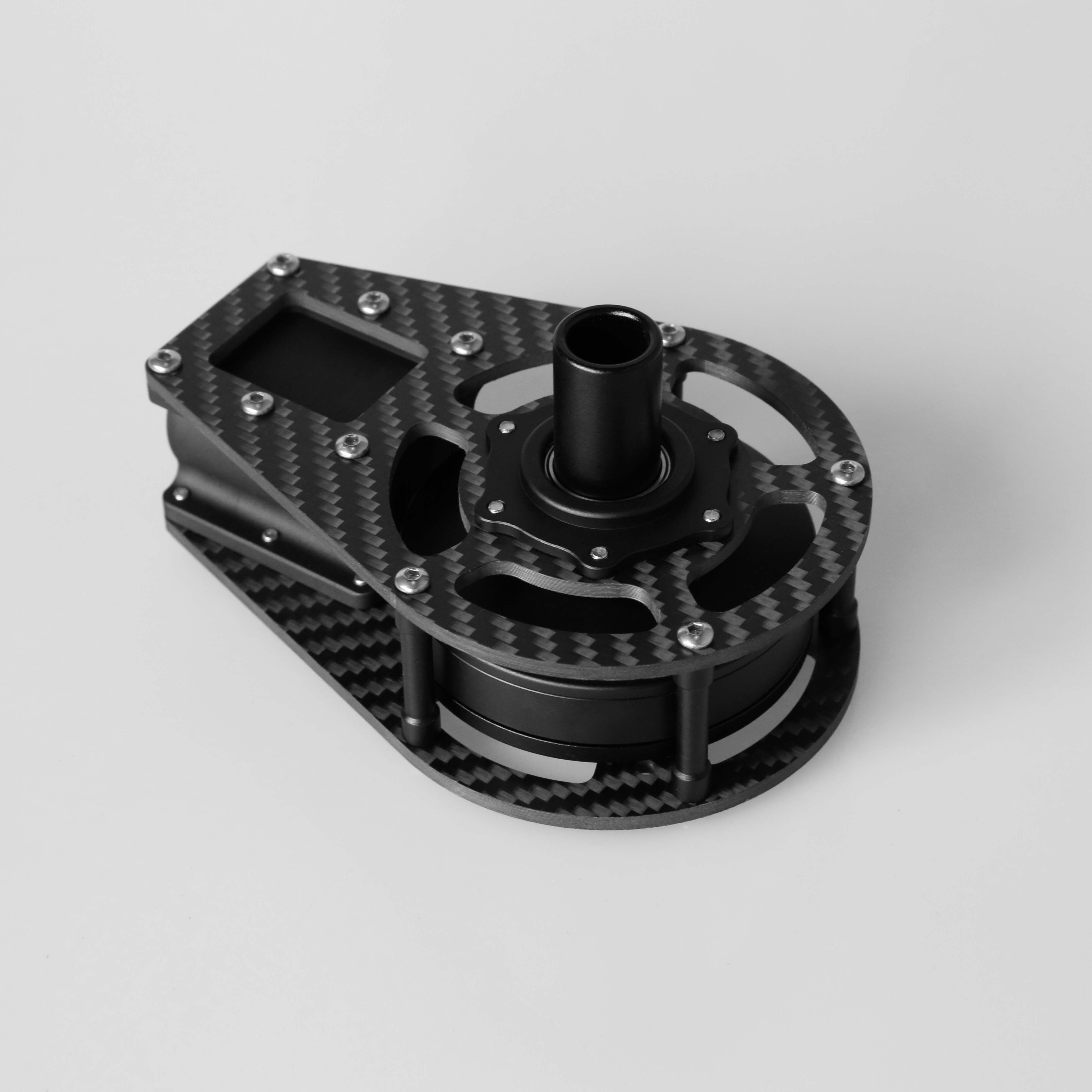 Pitch X axis motor cage with 6208 motor for BG004 pro