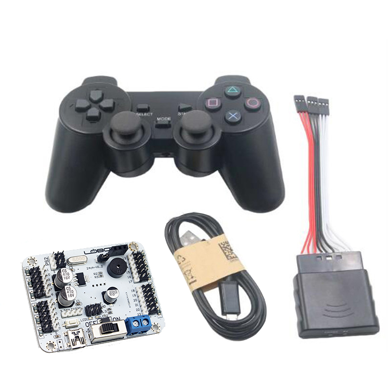 LOBOT 24 Channel Robot Servo Control Board Servo Motor Controller PS2 Wireless Control USB/UART Connection Mode Robot Toy Drone