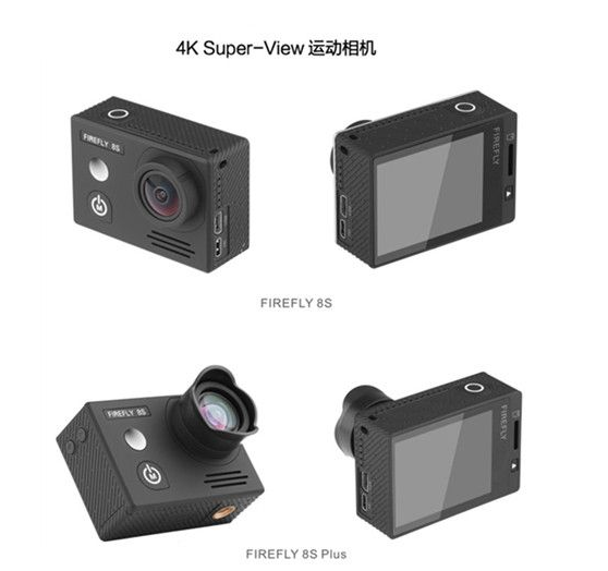 Hawkeye Firefly 8S 4K 170 Degree Super-View Bluetooth WiFi Camer