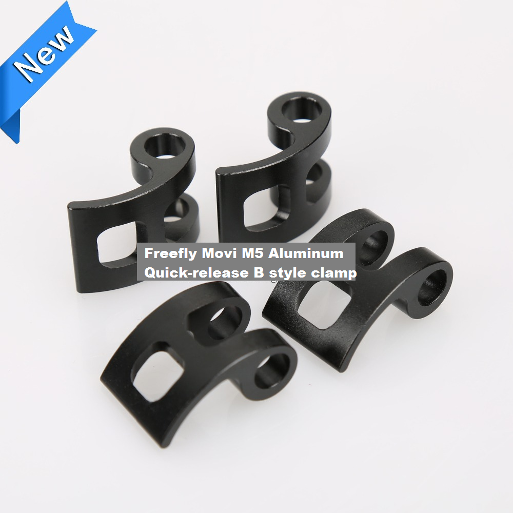 Freefly movi m5 aluminum quick-release style B clamp