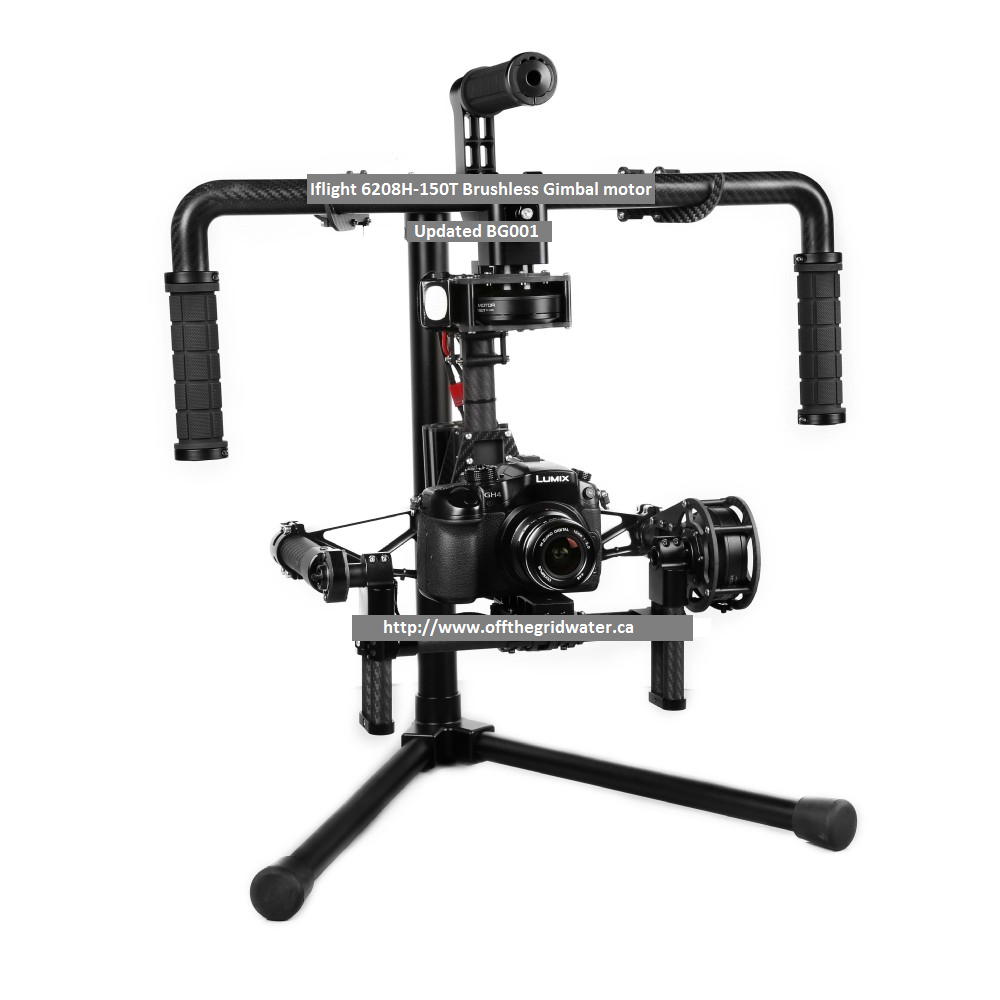 3 Axis Brushless GIMBAL Steadicam System Assembly required!