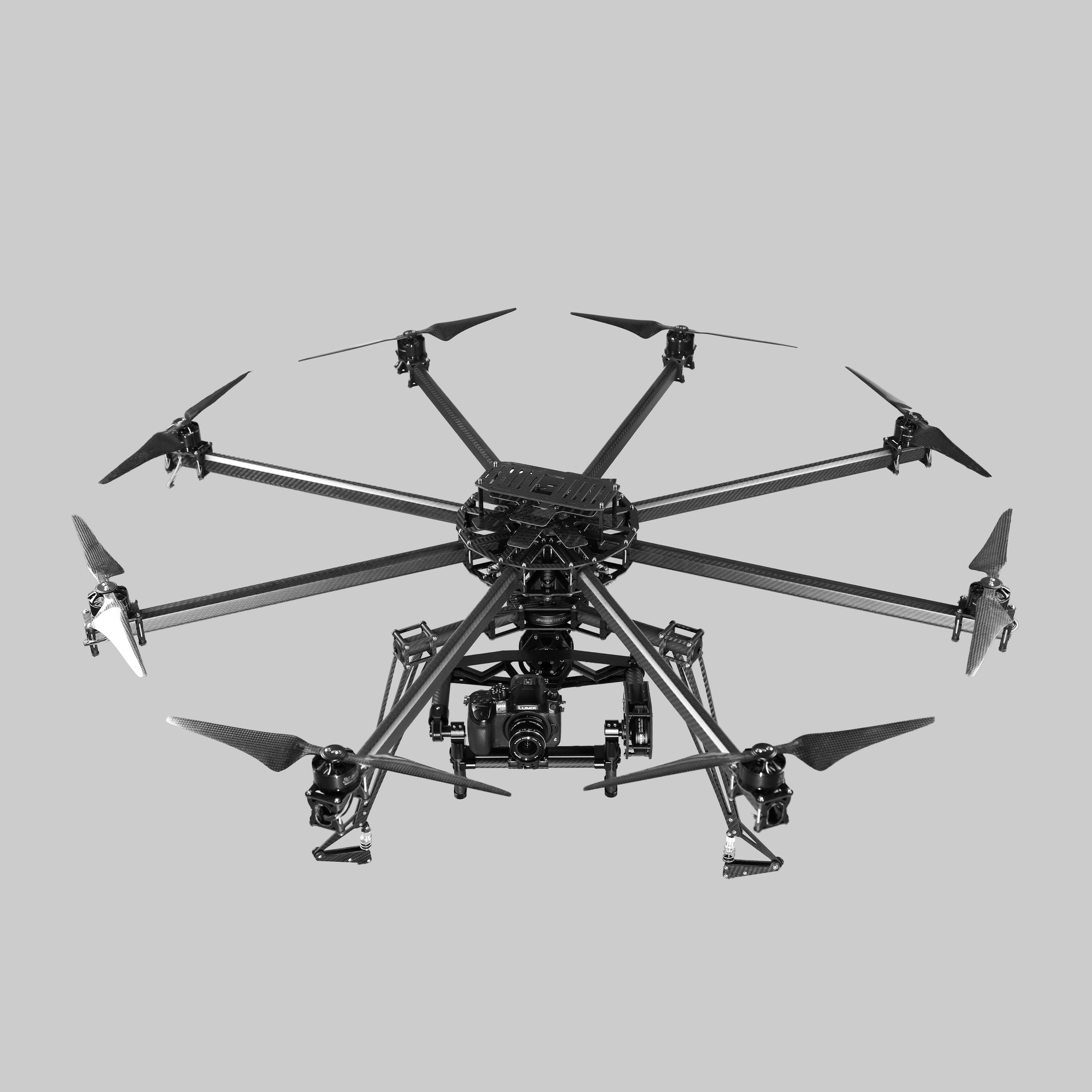 Octocopter RC Multicopter fpv