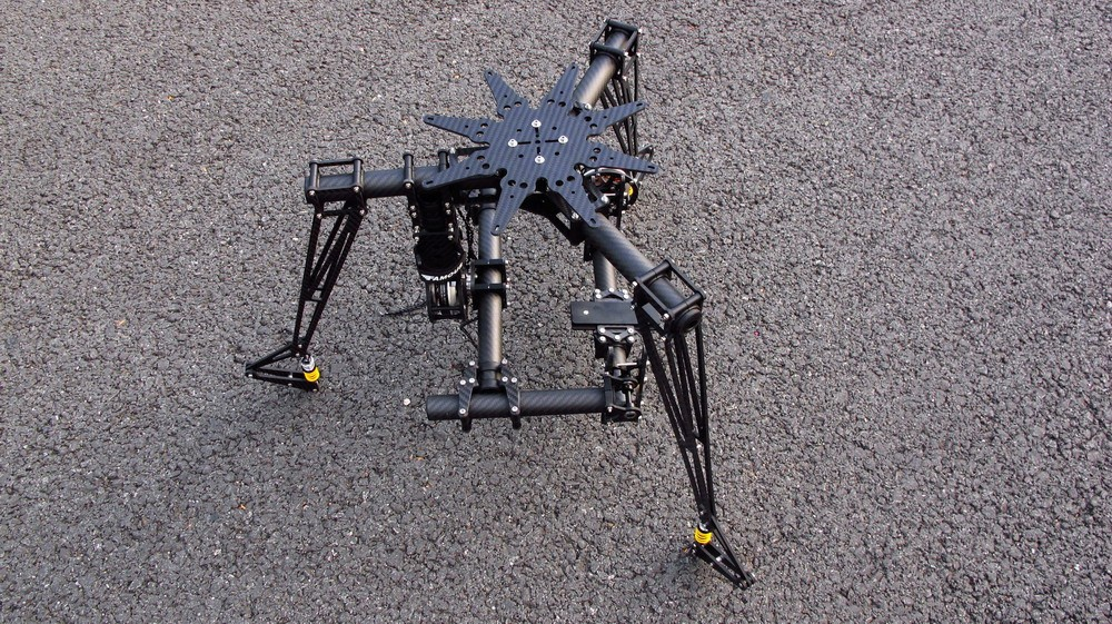 CINESTAR 3 Axis Brushless GIMBAL system LANDING GEAR