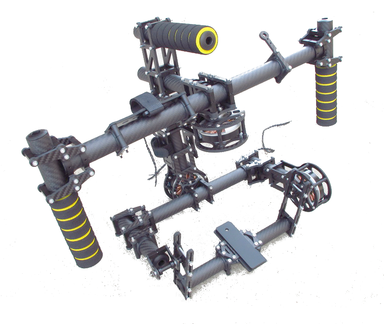 Handheld stabilized system Brushless Steadicam 3 Axis Gimbal