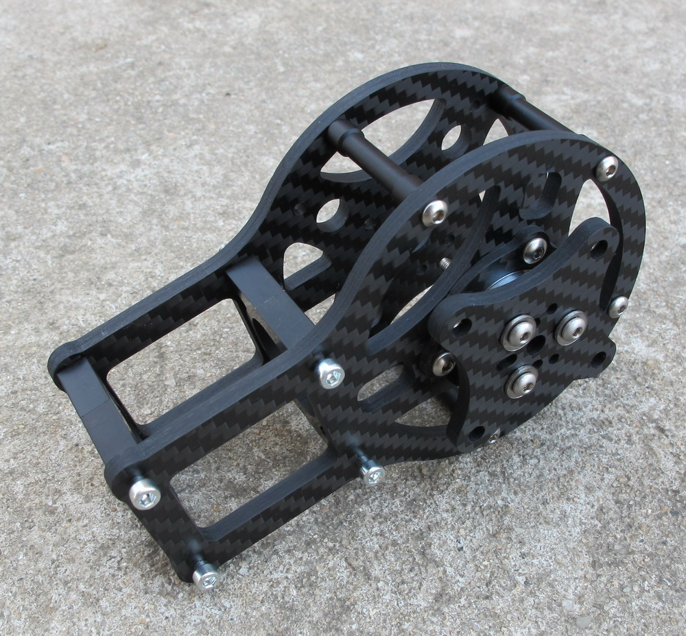 Carbon Fiber 4mm motor cage Y Axis For iPower GBM5208
