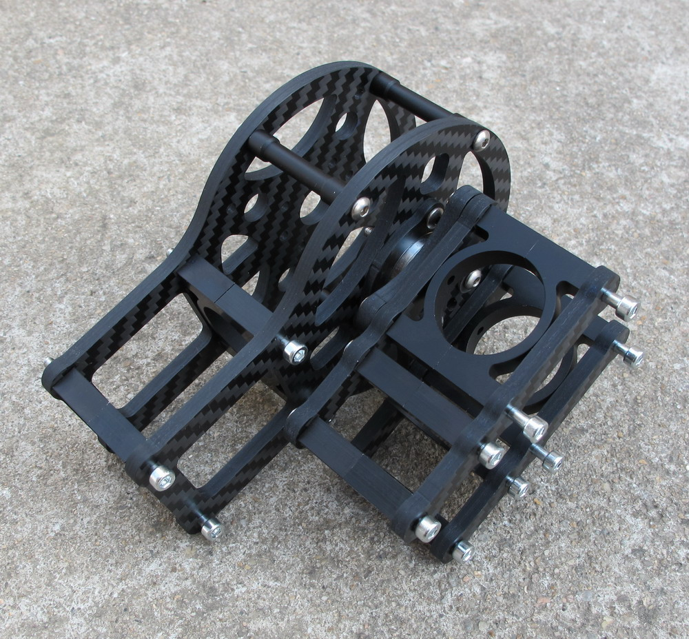 Carbon Fiber 4mm motor cage Z Axis For iPower GBM5208