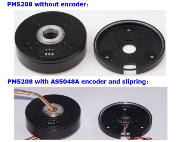 BGC Encoder Motor PM5208 AS5048A encoder
