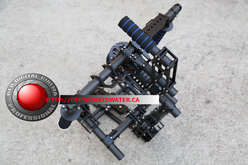 3-Axis RED Epic hand held Brushless Gimbal for RED Epic Scarlet