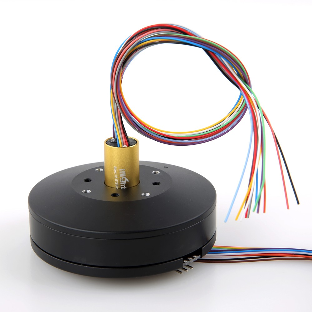 Slipring for High Current Gimbal 12.5mm 12 Circuits 2A